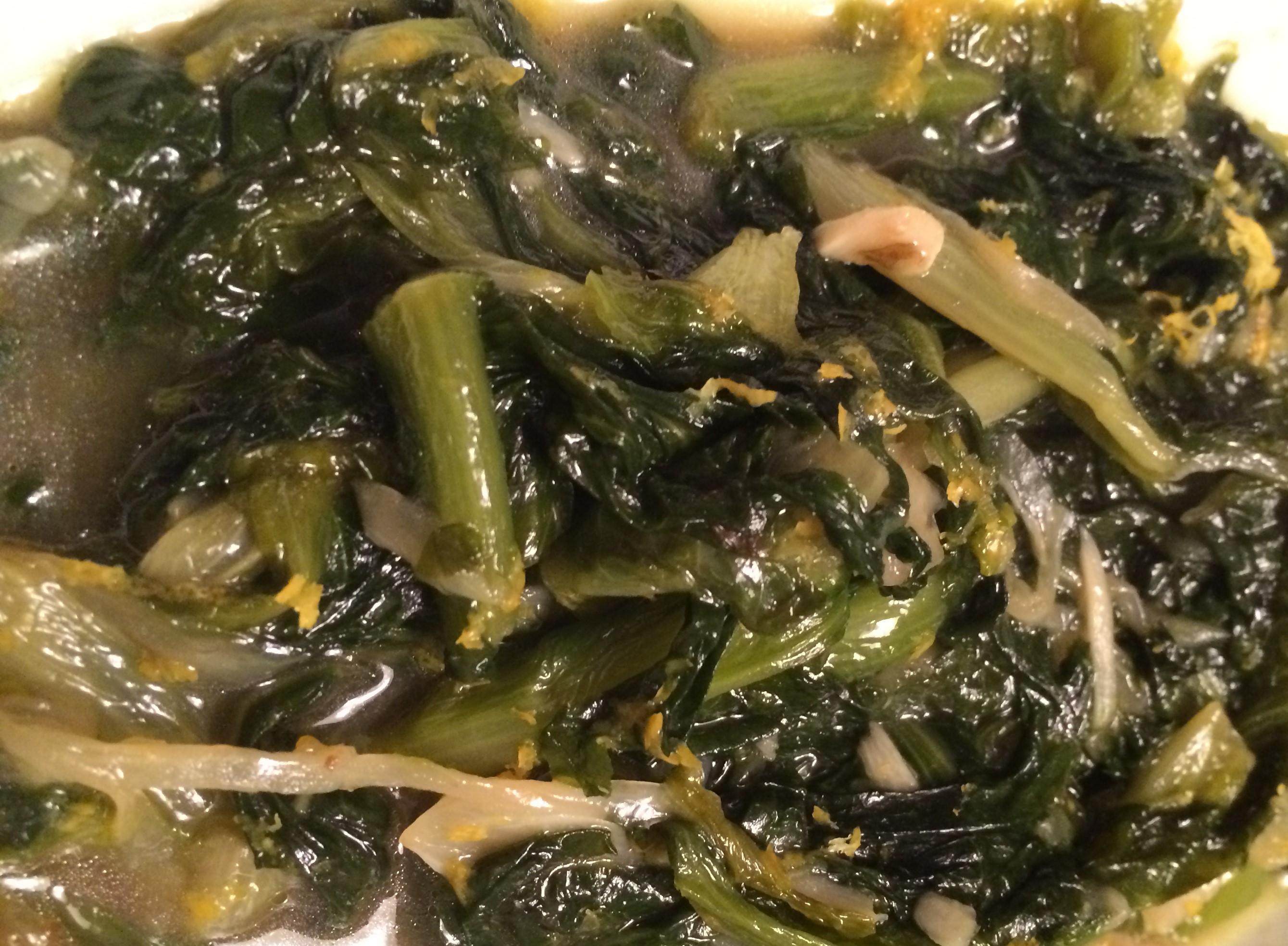 Braised Escarole with Onion, Garlic, and Lemon Zest
