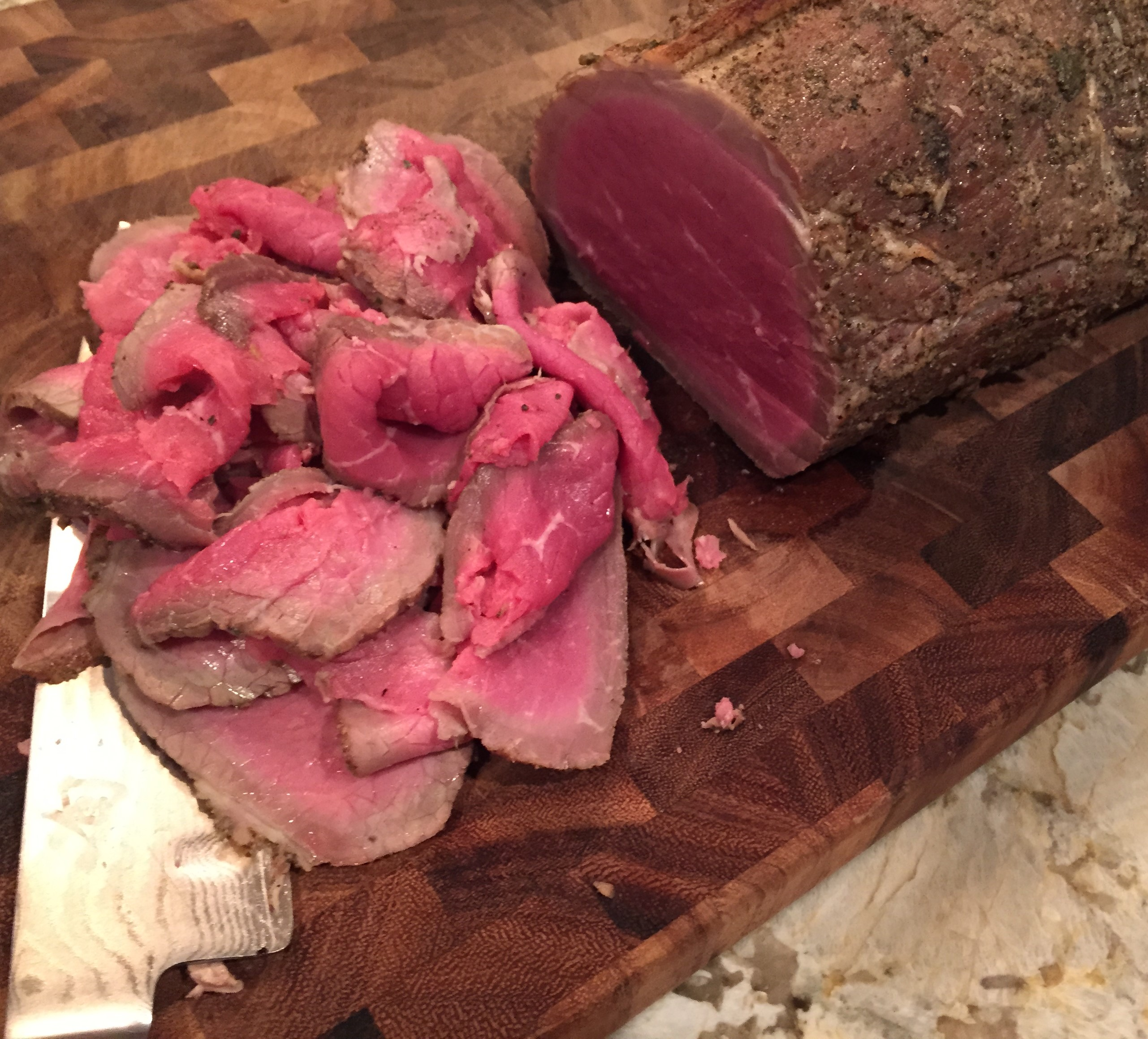 Sliced roast beef package - I Cook This Recipe All The Time At Home It Lasts A Long Time And Does Well In The Freezer If I Have To Freeze It Eye Round Beef Is Also A